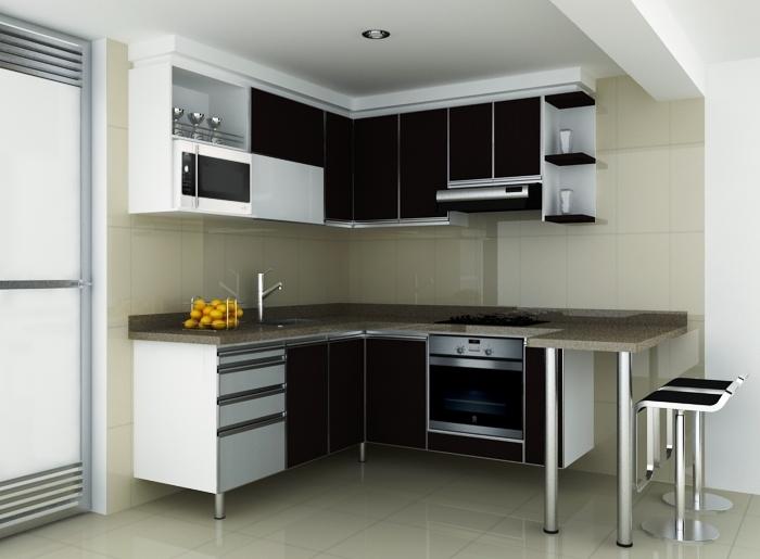 Cocina integral conjunto maranta c cuta cocinas for Muebles de cocina homecenter